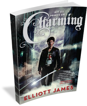 Book Cover Charming by Elliott James