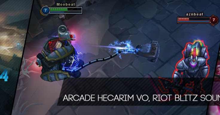 Surrender at 20: 8/14 PBE Update: Arcade Hecarim VO and ...