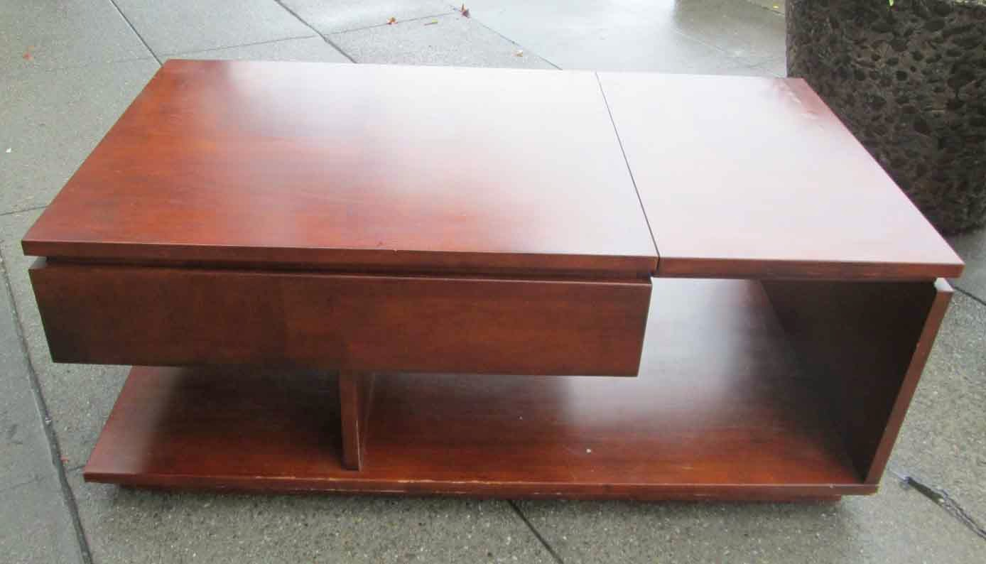 Uhuru Furniture Collectibles Sold Modern Coffee Table With Pop Up 85