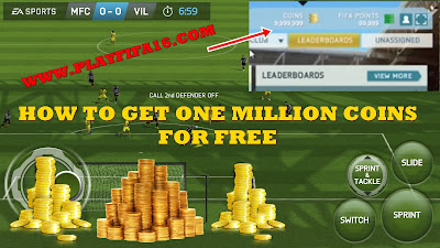 how to get one million coins fifa 16 for free