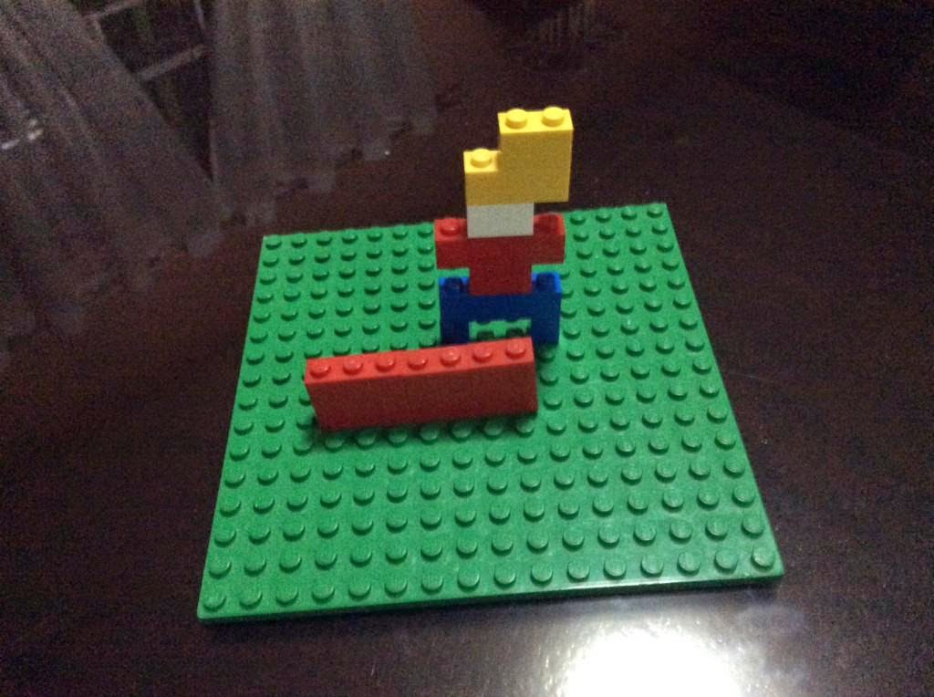 Cosmoe from Galactic Hot Dogs -- in LEGO form!