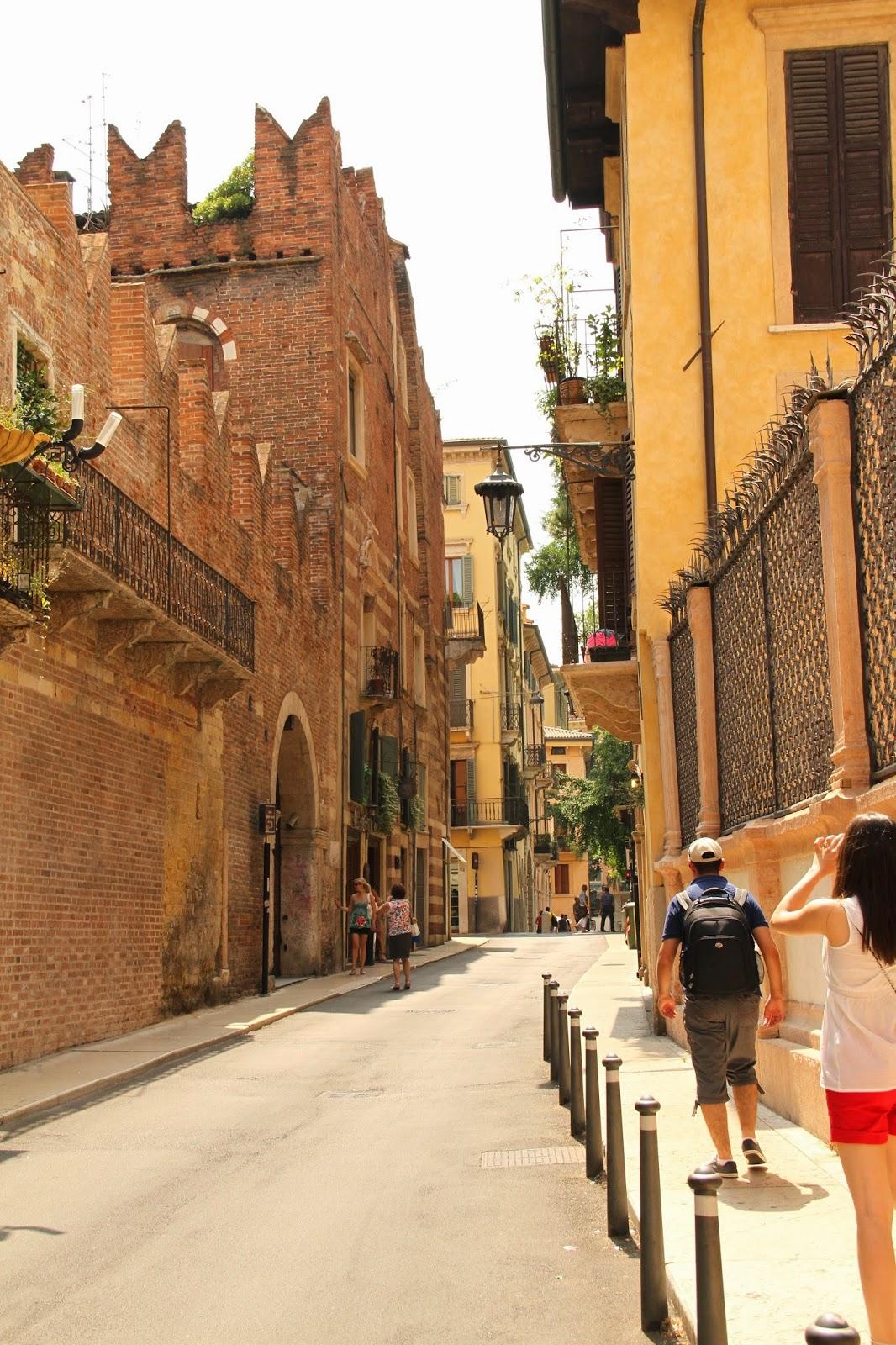 дом Ромео в Вероне