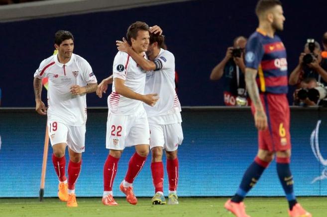 Hasil Pertandingan Seru: Barcelona vs Sevilla Piala Super Eropa