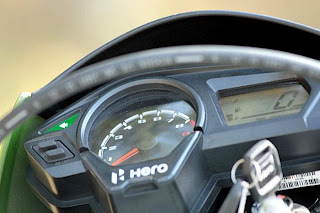 new hero motocorp impulse speedometer