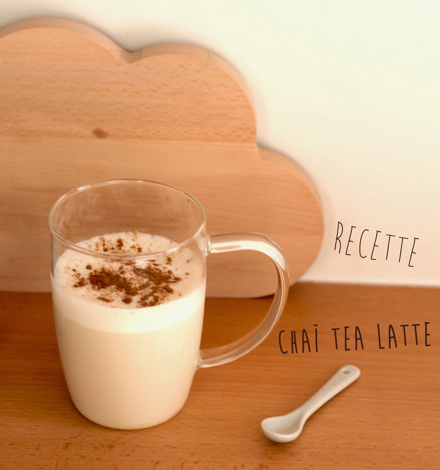 recette du cha tea latte maison slanelle style blog mode voyage musique beaut paris. Black Bedroom Furniture Sets. Home Design Ideas
