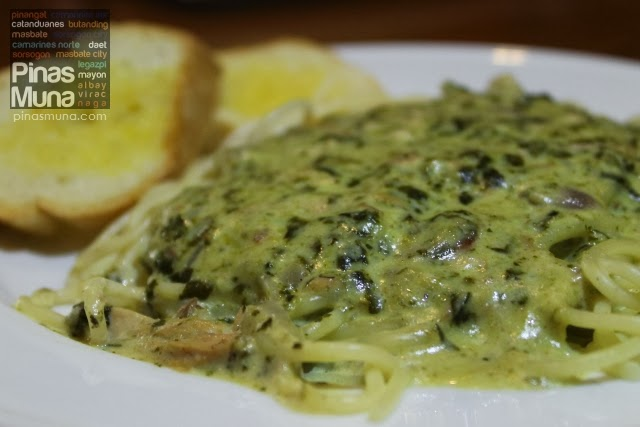 Pasta Pinangat by Small Talk Cafe