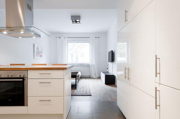 Casas minimalistas y modernas mini departamento vanguardista for Departamentos minimalistas