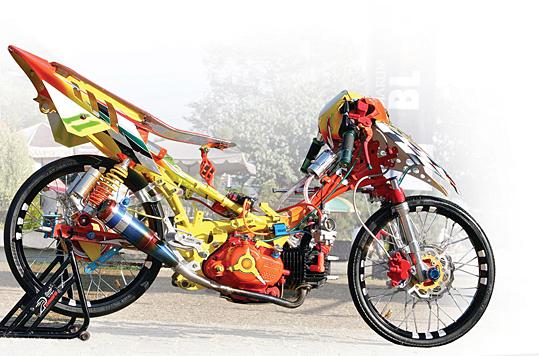 Modif Yamaha jupiter Z Spesial Kontes Airbrush title=