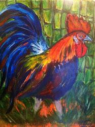 Rooster Cane - Cane Rooster I - Farm Rooster - Rooster