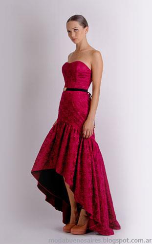 vestidos de fiesta de invierno Natalia Antolin 2013