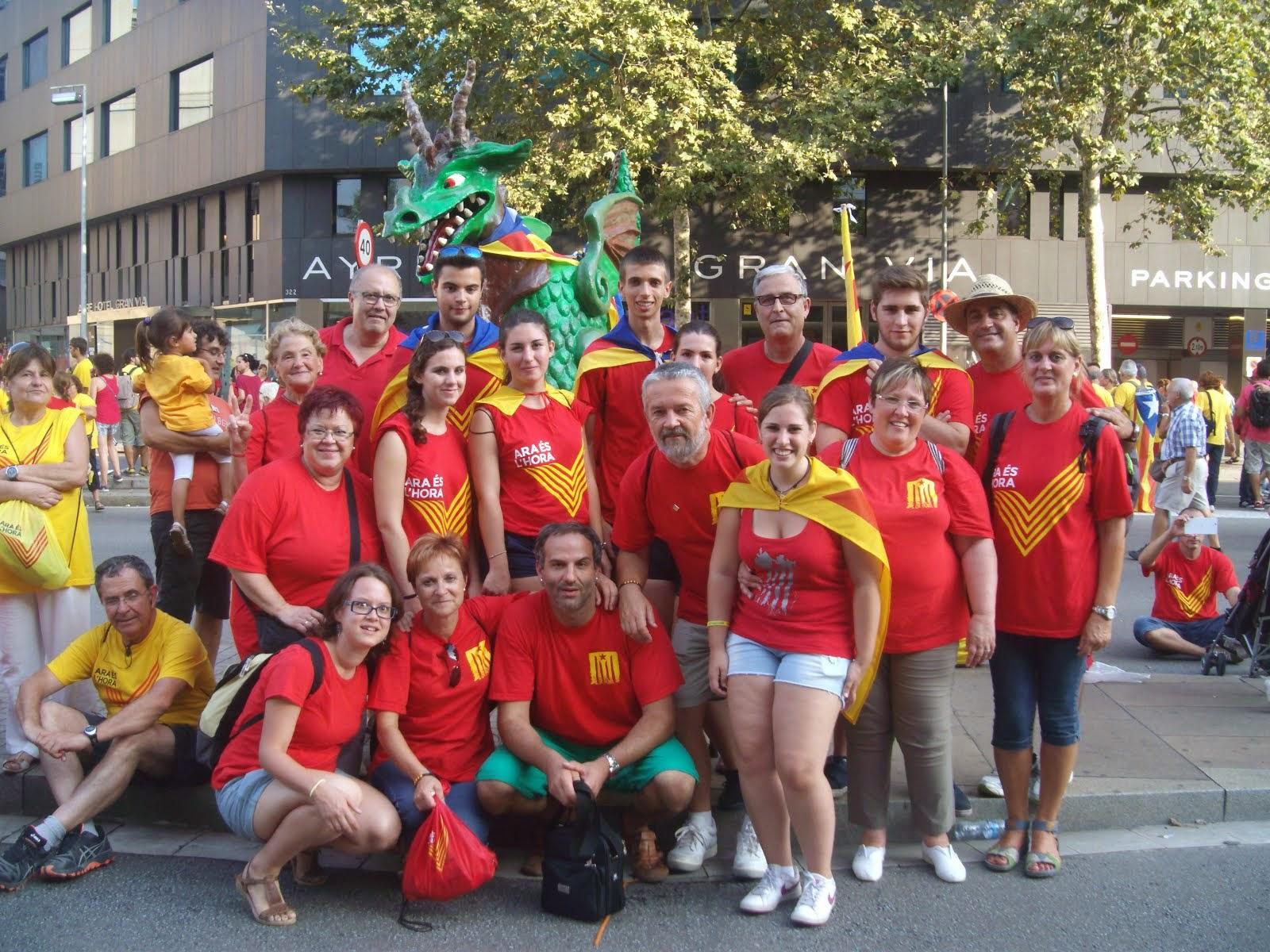 Via Catalana: La V a Barcelona