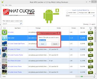 Download Aplikasi Android di PC dengan Real APK Leecher v1.3.5