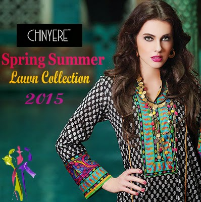 Chinyere Spring Summer Stitched Lawn Collection 2015