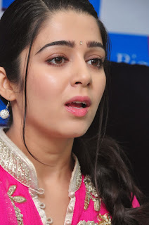 Charmi Latest Pictures in Salwar Kameez at Big C Mobile Store Launch