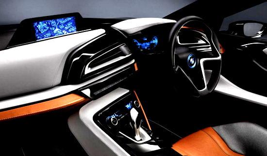Super BMW i8 Concept Spyder 2016 Car Review