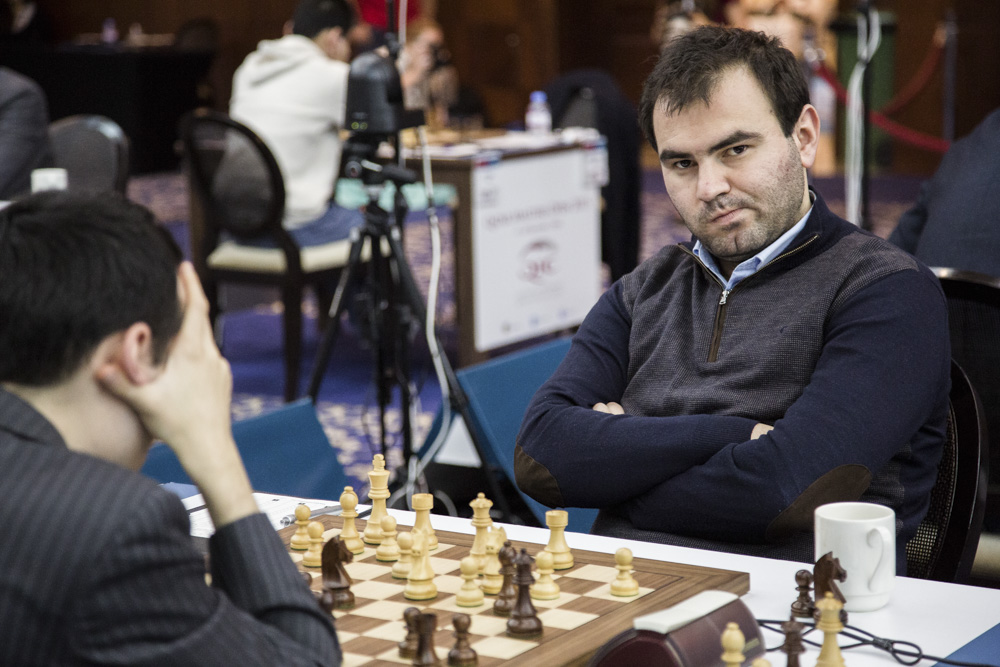 Ronde 3 : la meilleure partie d'échecs de cette journée a été sans aucun doute la victoire de Shakhriyar Mamedyarov sur Aleksander Lenderman - Photo © site officiel