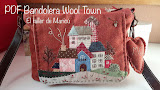 Bandolera Wool Town