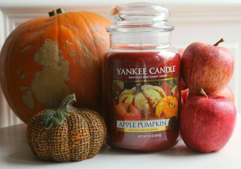 Yankee Apple Pumpkin Candle