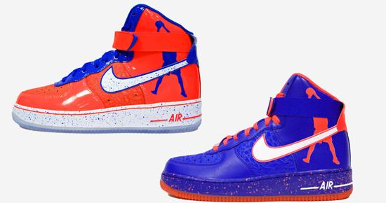 Men's Nike Air Force 1 High CMFT Sheed Rasheed Wallace Roscoe Game Royal Red Sneakers : A66e971
