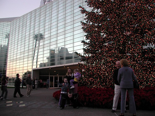 Christmas tree Crystal Cathedral