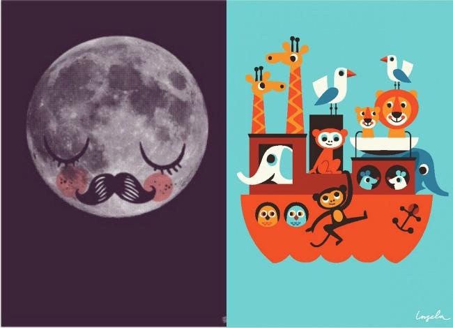 Mcompany style 7 webs de l minas infantiles para decorar - Laminas infantiles para cuadros ...