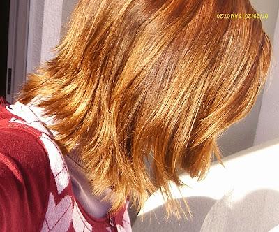 cabelos após repigmentação