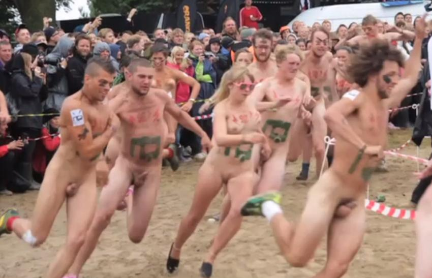 naked dudes sprint