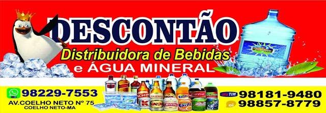 DESCONTÃO - Distribuidora de bebidas e Água Mineral