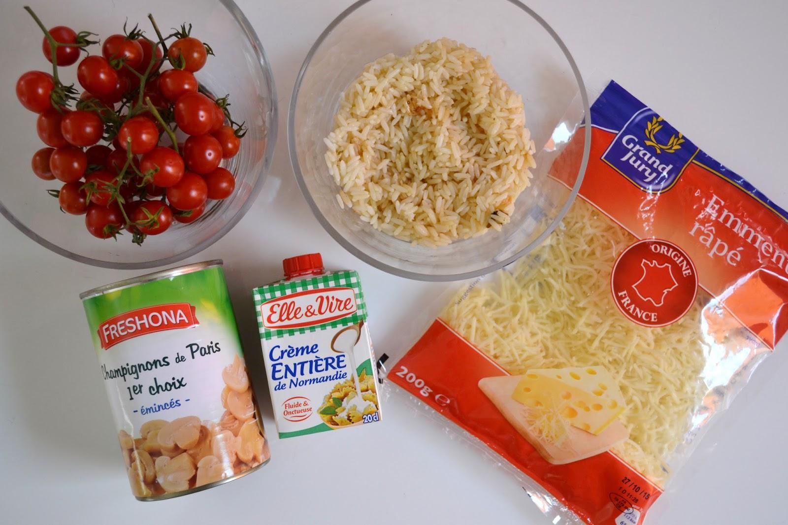 Sweetykisslife cuisine que faire avec un reste de riz - Que faire avec des reste de poulet ...