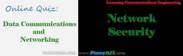Practice Quiz in Network Security