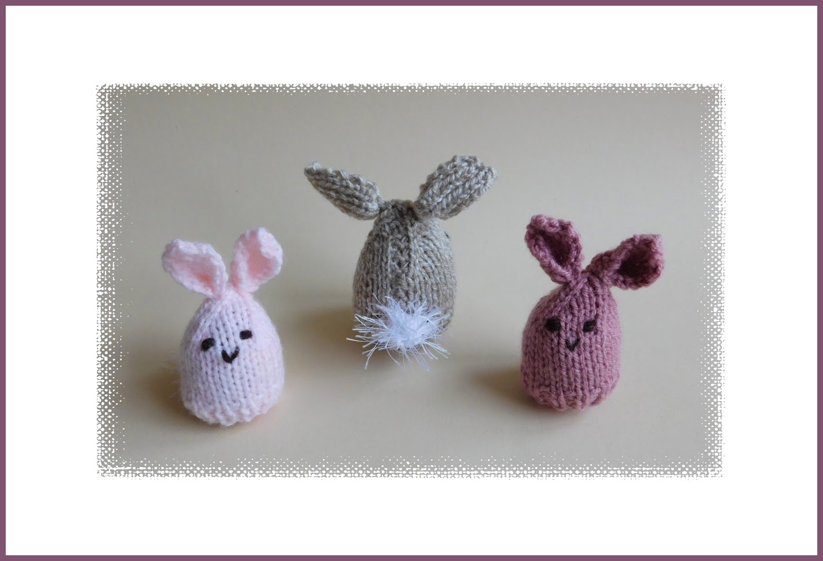 Easter Egg Cosy Knitting Pattern : mariannas lazy daisy days: Easter Bunny Egg Cosy