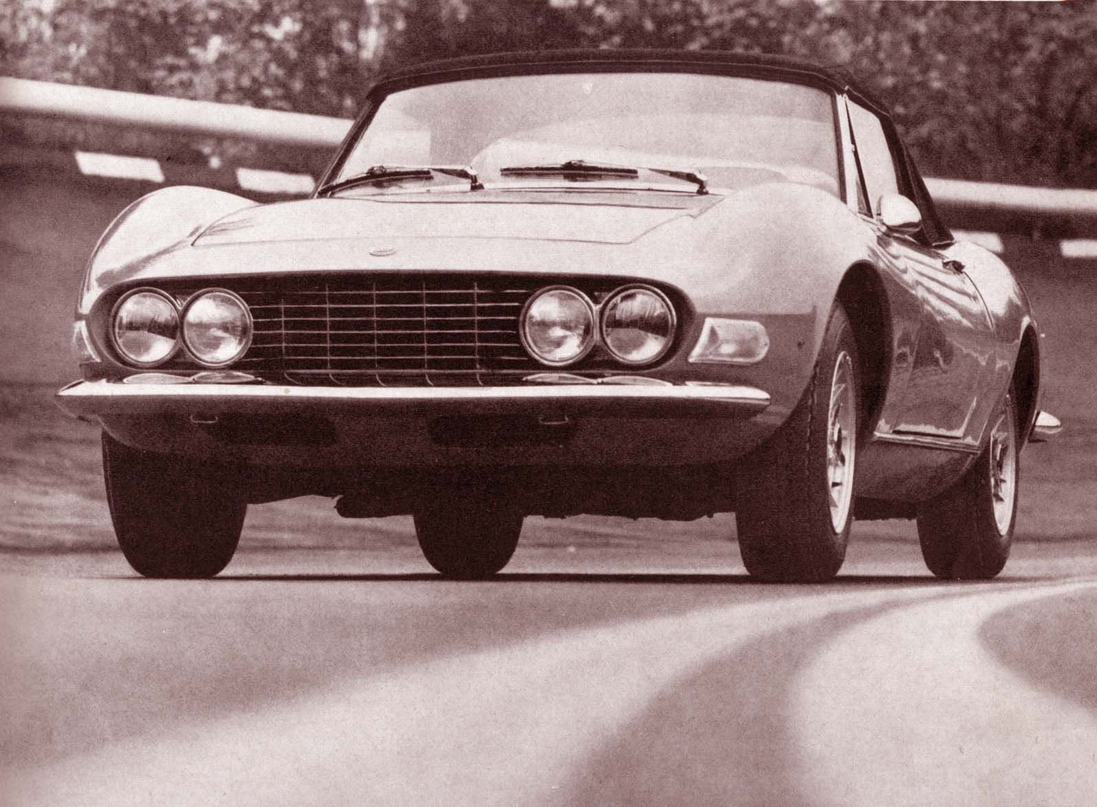 Phscollectorcarworld October 2012 1984 Pininfarina Wiring Diagram Production Of Fiat Dino Started In 1967 With Bodies Produced At Bertone And Final Assembly Done Fiats Rivolta Plant
