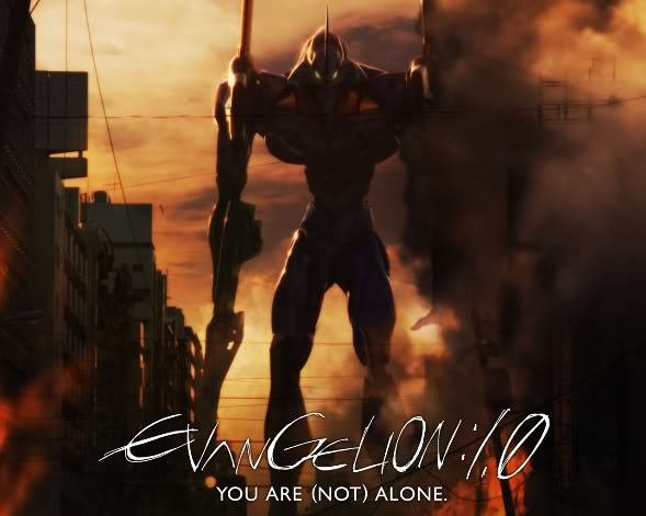 Rebuild of Evangelion 1.0: You are (not) alone