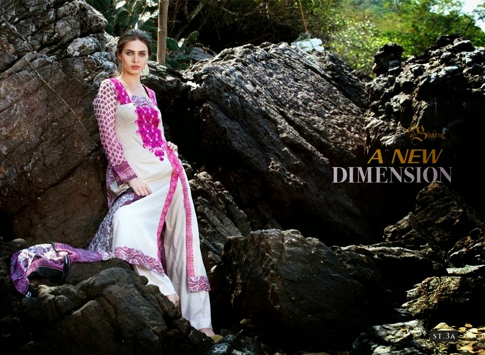 Spring Summer Lawn Suits 2014