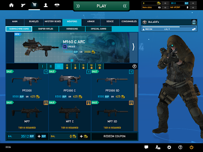 Ghost Recon Online - Submachine Guns Tier III Unlocked