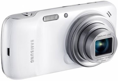 Samsung Galaxy S4 Zoom Rear View
