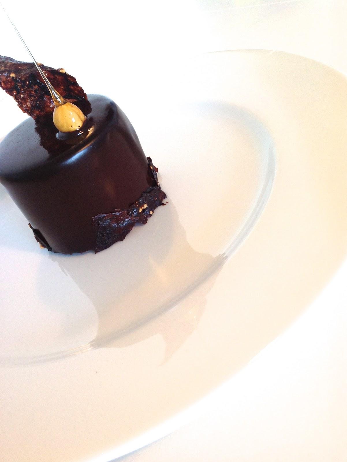 Hazelnut Chocolate Tuiles Recipe — Dishmaps