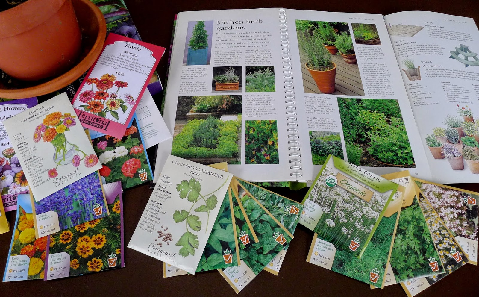 February Garden and Kitchen  Tasks, order seeds