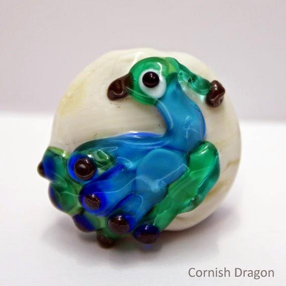 peacock bead