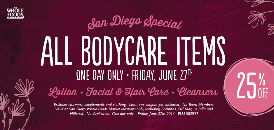 Mommy Testers, 20 minutes for me kit, DIY relaxation kit, whole foods bodycare, #WFMSummerFun, Whole Foods body coupon, whole foods san diego coupon
