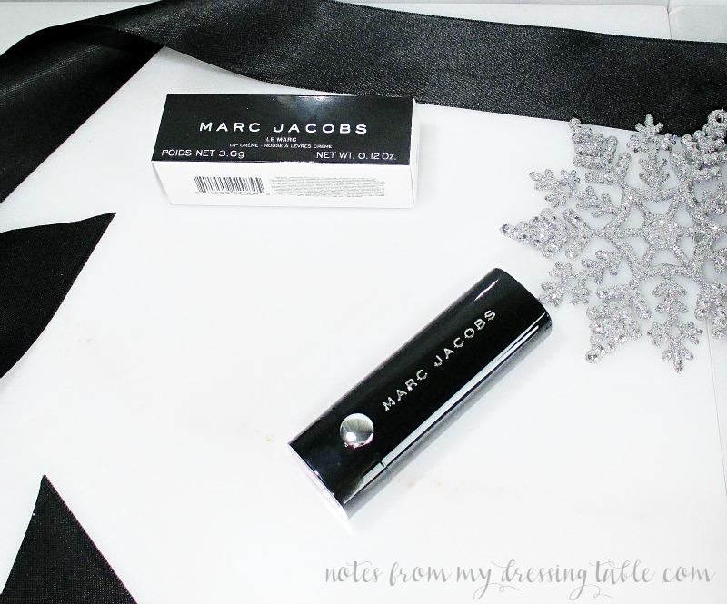 Marc Jacobs Le Marc Lip Creme Lipstick 218 Clara notesfrommydressingtable.com