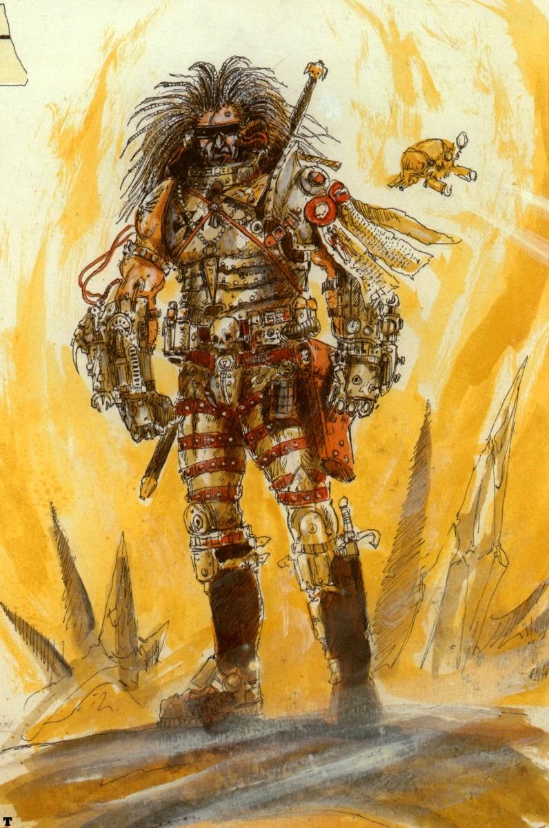 WARHOST40K: Age of Strife - The Techno-Barbarians Warhammer 40k Space Marine Salamanders