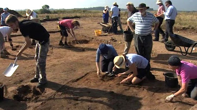 Saxon graveyard unearthed in Suffolk
