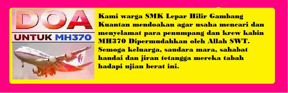 Doa Untuk MH370