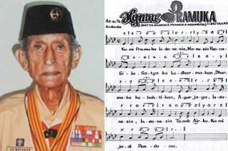 H Mutahar Lirik Lagu Himne Pramuka