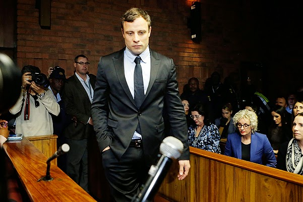 South African Oscar Pistorius Paralympic accused of murdering his  girlfriend Riva Stinkamp going to resolve the conflict with the girl's  parents ...