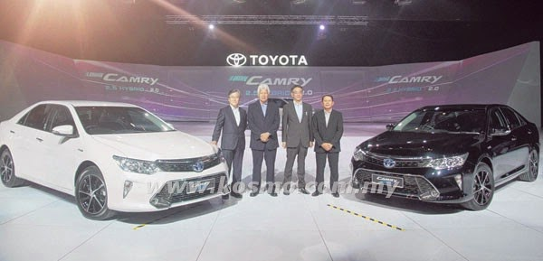 Toyota Pertaruh Model Baru Iaitu Camry Hybrid