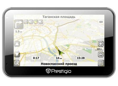 автомобильный навигатор PRESTIGIO GeoVision 5600 GPRSHD