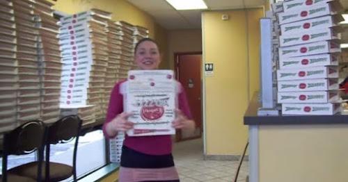 Um talento especial para montar caixas de pizza