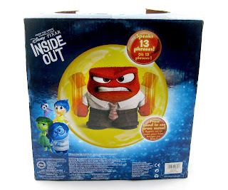 inside out anger plush